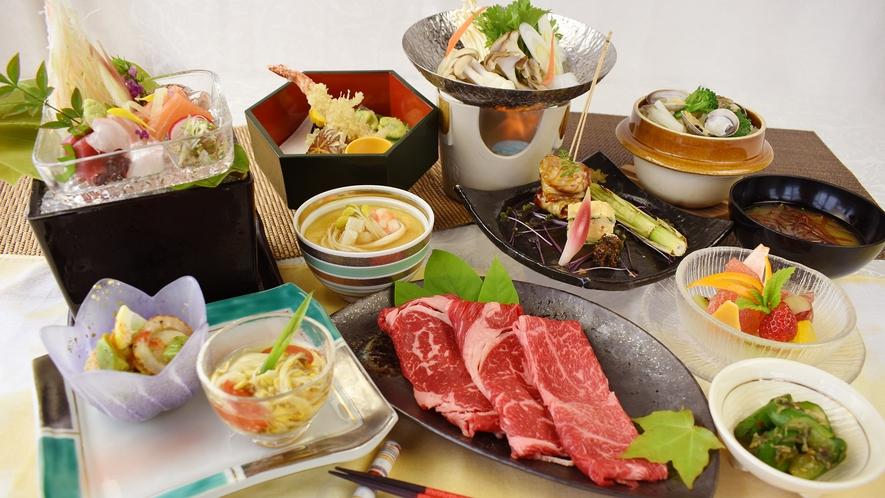和食膳『味地(あじ)めぐり』の一例