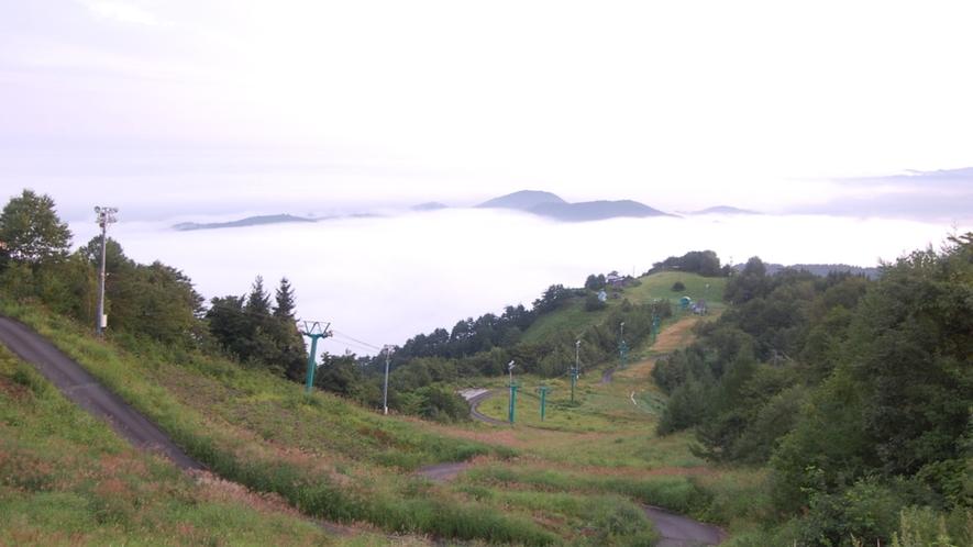 遊歩道~雲海