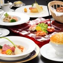 ご夕食 フランス料理フルコース 一例