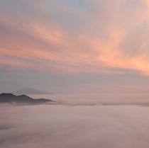 ホテル周辺風景 雲海