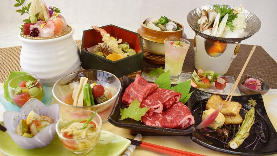和食膳<美味少量> 『つがる』の一例