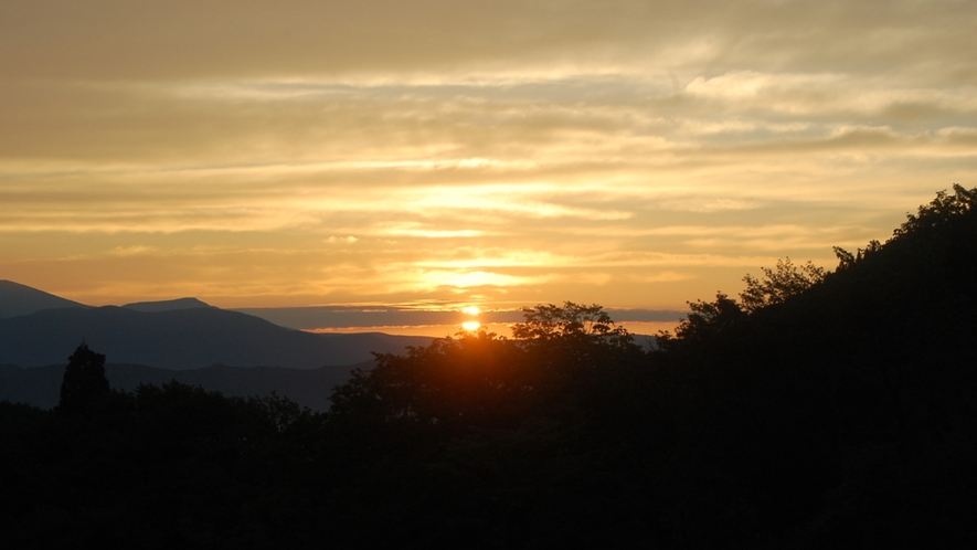 ホテル周辺風景 朝日