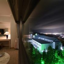 サウスタワー上階 夜景側