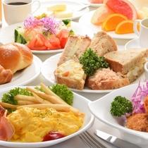 ご朝食 洋食メニューの一例