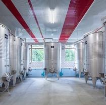 ワイナリー ワイン貯蔵タンク