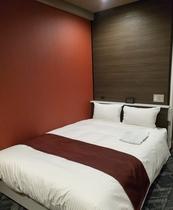 リニューアル部屋 シングル・セミダブル部屋 ベッド