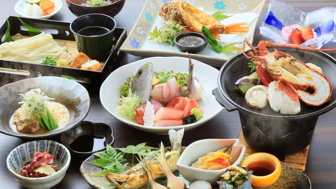 【特選会席】■四季の香り漂うワンランク上の食材を味わい尽くす!/夕朝食付き