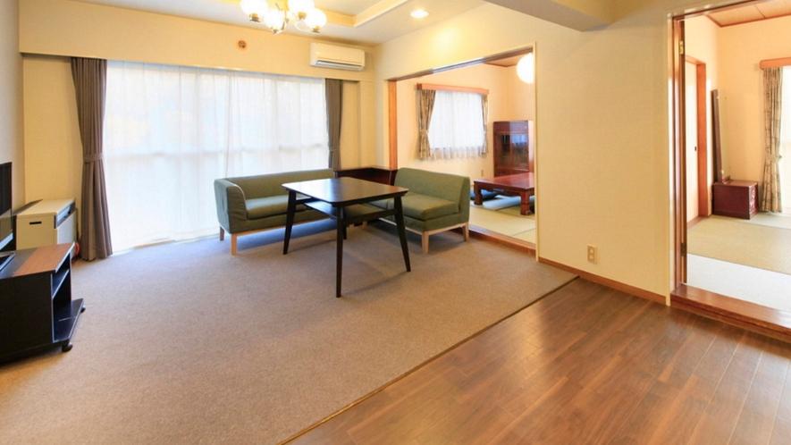 全室キッチン付!70平米以上!広々とした空間でゆったり、ごろごろ。