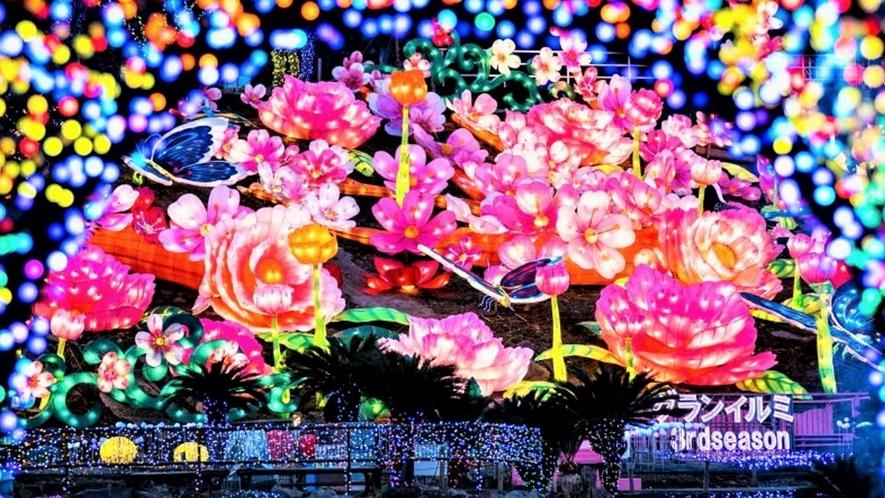 【グランイルミ】幻想的な光の世界をお楽しみいただけます。ただいま6thシーズン開催中☆