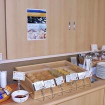 朝食会場のイメージです