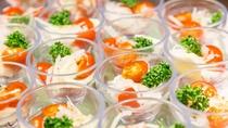 *【夕食バイキング(一例)】映え料理としても人気な、彩りサラダ♪