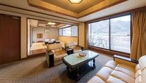 *【特別室(一例)】和室と洋室でひろびろ!