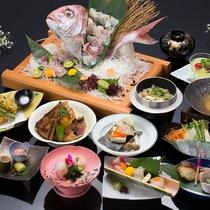 彩り8つの鯛料理☆新鯛づくし会席♪