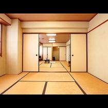 2間の広々和室