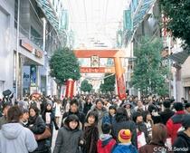 仙台初売り 当ホテルの周りは有名店揃い
