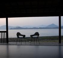 水辺の離れ Calme -カルム- テラス