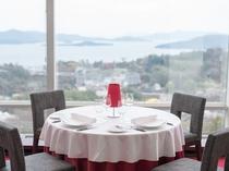 ★目の前に広がる瀬戸内海の多島美を眺めながら、ごゆっくりお食事をお楽しみください。