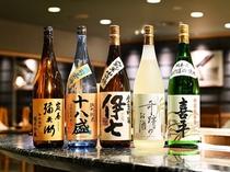 和食「岐備」では多数の地酒も取り揃えております♪