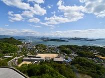 ★客船をイメージした倉敷せとうち児島ホテルのエレベーターホールは、