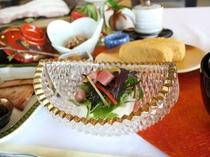 ★鮪サラダ豆腐