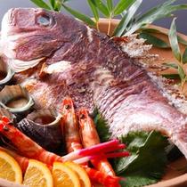 桜鯛の宝楽焼