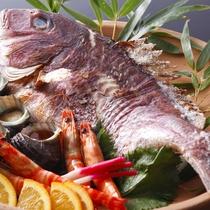 鯛の宝楽焼(イメージ)