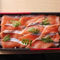 淡路島サクラマスの箱寿司