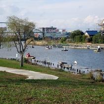 横利根川の釣りスポット