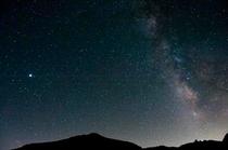 乗鞍岳から見る星空