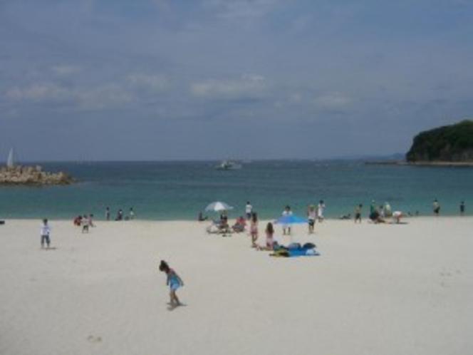 春の白良浜
