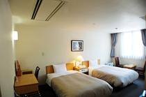 新館ツインルーム客室例
