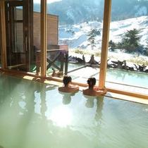 【温泉】冬の眺め