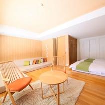 【客室】特別室「こもれび」35平米禁煙