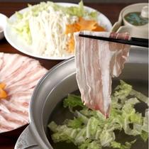 【食事】夕食:しゃぶしゃぶ