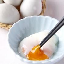 【食事】朝食:とろ~り温泉卵