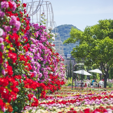 【花満開の季節】フラワーフェスティバルへようこそプラン(花グッズ&スイーツ・朝食・パスポート付)