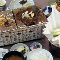 """■朝食でも奥飛騨の素材を使ったアツアツの""""ごっつぉ""""をご用意!"""