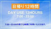 【VOD付き】デイユース・テレワークプラン【日帰り12時間限定/1名様利用】
