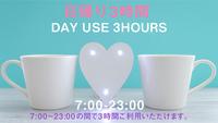 【カップル】VOD付きデイユース・テレワークプラン【日帰り3時間限定/2名様利用】
