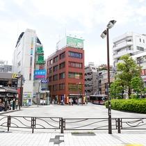 武蔵新城駅前風景