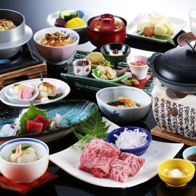 """""""魚介もお肉も味わえる""""京の食材をギュッと詰め込んだ【欲張り会席】"""
