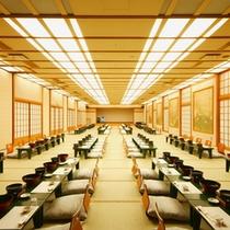 ≪宴会場(田野〜篠)≫200畳の大宴会場。カラオケのご用意も可能です。(最大240名様まで)