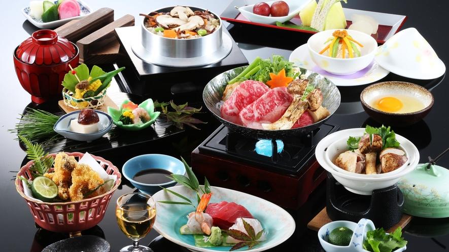 4種の松茸料理が味わえる松茸会席プラン