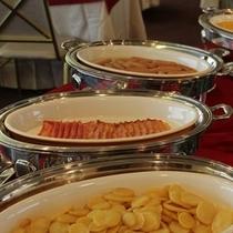 朝食バイキング:おかず洋食