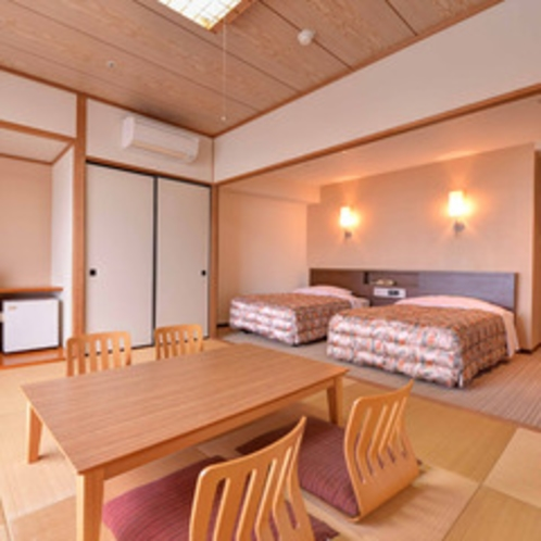 *【クラッセ棟・特室一例】レイクビューのお部屋♪ご家族やグループでのご利用に最適です。