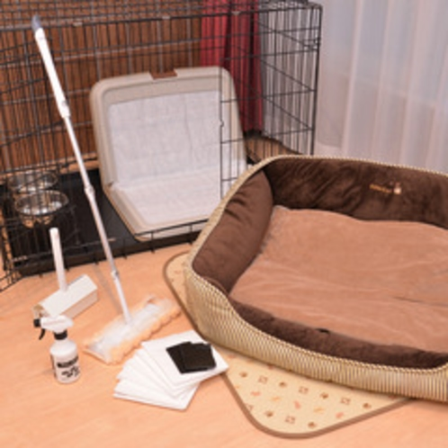 *【犬用アメニティ一例】ワンちゃんも快適に御滞在いただけます☆