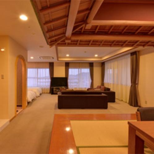 *【クラッセ特室一例】ゆったり広々なお部屋でリゾートステイをご満喫下さい♪