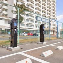 *【電気自動車用パーキング】需要が増えているEV車用に専用パーキングを完備!!