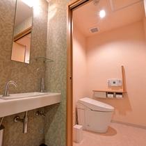 *【クラッセ特別室一例】洗浄機能付トイレ