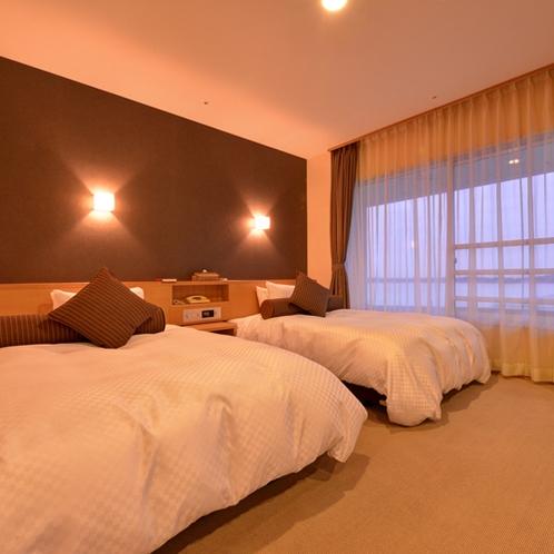 *【クラッセ特別室一例】広々としたベッドで快適にお寛ぎください☆